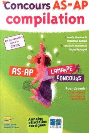 Concours AS-AP Compilation 2014 - lamarre - 9782757307656 -