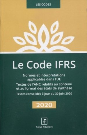 Code IFRS - Groupe Revue Fiduciaire - 9782757906972 -