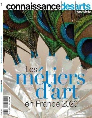 Connaissance des Arts Hors-série : Les métiers d'art 2020 - connaissance des arts - 9782758009788 -