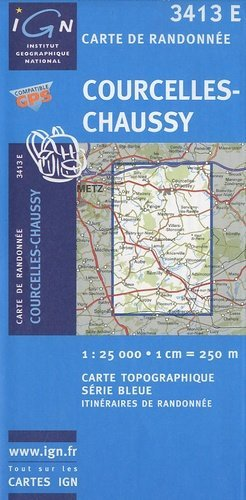 Courcelles - Chaussy - ign - 9782758502975 -