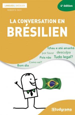 La conversation en brésilien - Studyrama - 9782759038794 -