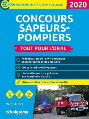 Concours sapeur-pompier professionnel - studyrama - 9782759042180 -