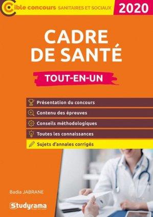 Concours cadre de santé - studyrama - 9782759042210 -