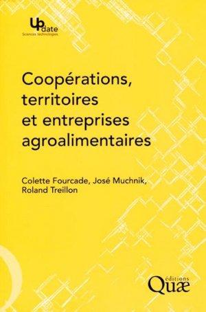 Coopérations, territoires et entreprises agroalimentaires - quae  - 9782759207565 -