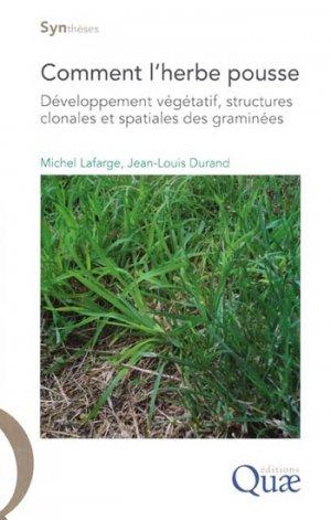 Comment l'herbe pousse - quae  - 9782759210459