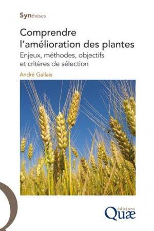 Comprendre l'amélioration des plantes - quae  - 9782759223466 -