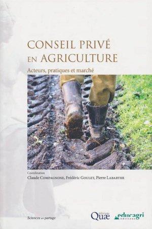 Conseil privé en agriculture - quae  - 9782759223824