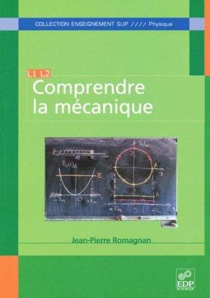 Comprendre la mécanique - edp sciences - 9782759806614 -