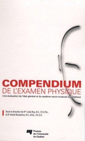 Compendium de l'examen physique - presses de l'universite du quebec - 9782760515222 -