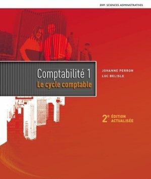 Comptabilité 1, Le cycle comptable - erpi - 9782761352451 -