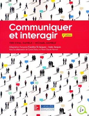 Communiquer et interagir - cheneliere education (canada) - 9782765107521