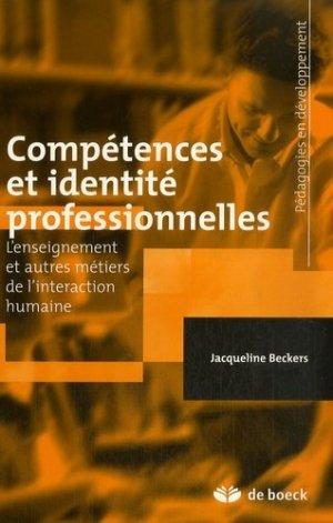Compétences et identité professionnelles - de boeck superieur - 9782804155209 -