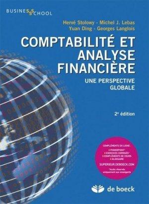 Comptabilité et analyse financière - de boeck superieur - 9782804161927 -
