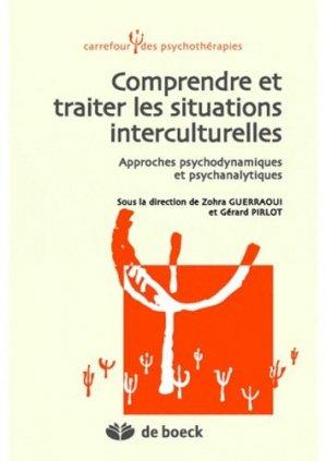 Comprendre et traiter les situations interculturelles - de boeck superieur - 9782804166120 -