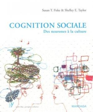 Cognition sociale. Des neurones à la culture - mardaga - 9782804700355 -