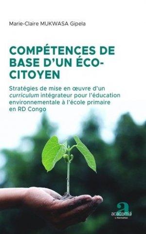 Compétences de base d'un éco-citoyen - academia bruylant - 9782806105257 -
