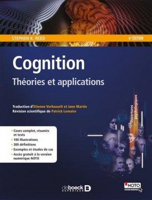 Cognition - de boeck superieur - 9782807307582