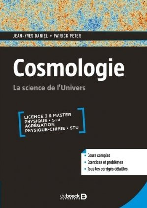 Cosmologie - de boeck - 9782807321243 -