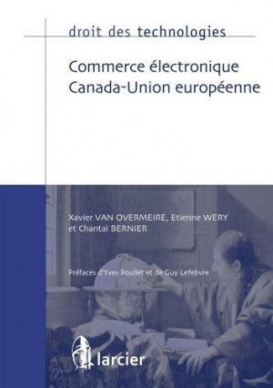 Commerce électronique Canada-Union européenne - Éditions Larcier - 9782807909021 -