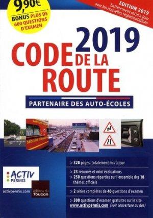 Code de la route - toucan (éditions du) - 9782810008438 -