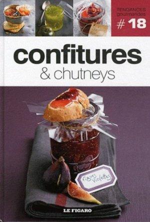 Confitures & chutneys - le figaro - 9782810503780 -