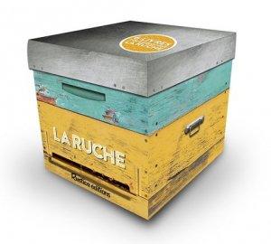 Coffret la ruche - rustica - 9782815311113 -