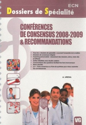 Conférences de consensus 2008-2009 & Recommandations - vernazobres grego - 9782818301845 -