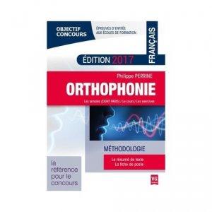 Concours orthophonie : français 2017 - vernazobres grego - 9782818314999 -