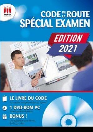 Code de la route spécial examen - Micro Application Editions - 9782822407113 -