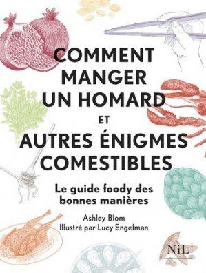 Comment manger un homard et autres énigmes comestibles - nil - 9782841119783 -
