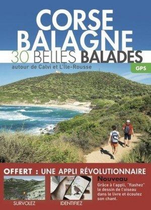Corse - Balagne - 30 belles balades - dakota - 9782846404297 -