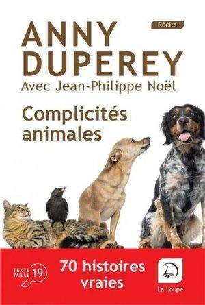 Complicités animales - de la loupe - 9782848689593 -