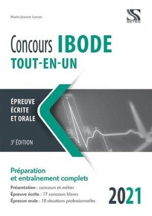 Concours IBODE 2021 Tout en un - setes - 9782851000057 -