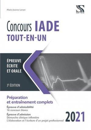 Concours IADE tout-en-un 2021-2022 - setes - 9782851000064 -