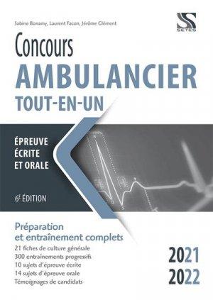 Concours ambulancier 2021-2022 - setes - 9782851000071 -