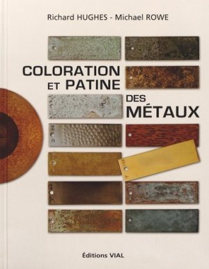 Coloration et patine des métaux - vial - 9782851011787 -