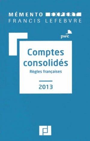 Comptes consolidés - francis lefebvre - 9782851159663 -