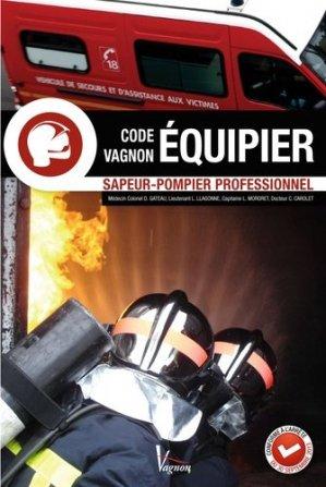 CODE VAGNON ÉQUIPIER Sapeur-pompier professionnel - vagnon - 9782857259077 -