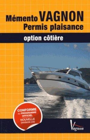 Code Vagnon permis plaisance option côtière et son mémento de révision - vagnon - 9782857259497 -