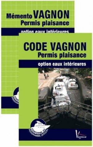 Code vagnon permis plaisance + Mémento - vagnon - 9782857259510 -