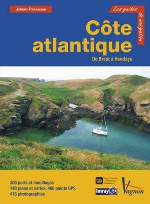 Côte Atlantique De Brest à Hendaye - vagnon - 9782857259633 -