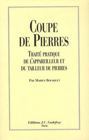 Coupe de pierres - jean-cyrille godefroy - 9782865532100 -