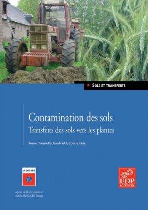 Contamination des sols - EDP Sciences - 9782868837936 -