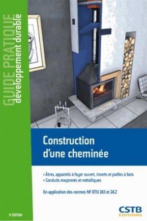 Construction d'une cheminée - cstb  - 9782868915702 -