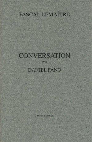 Conversation avec Pascal Lemaître - Tandem - 9782873491161 -
