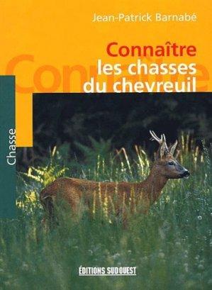 Connaître les chasses du chevreuil - sud ouest - 9782879014388 -