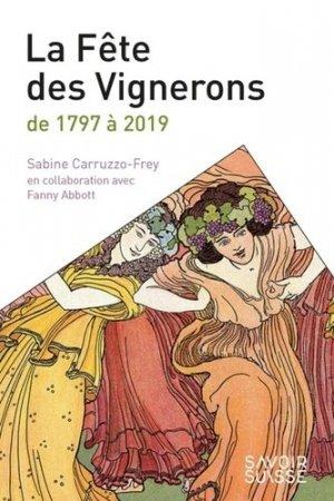 Confrérie et fêtes des vignerons - PPUR - 9782889152995 -