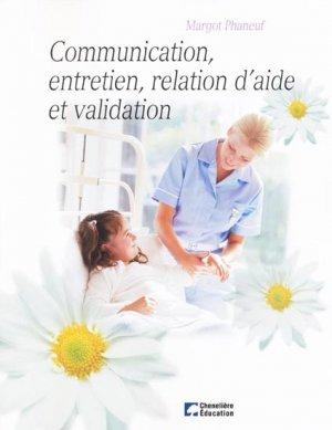 Communication, entretien, relation d'aide et validation-cheneliere / ccmd-9782894618578