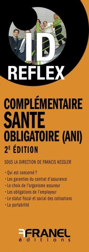 Complémentaire santé obligatoire (ANI) - arnaud franel - 9782896036141