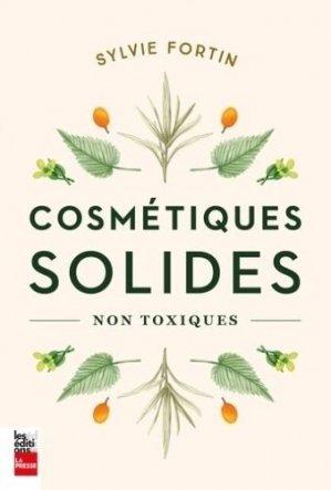 Cosmétiques solides - la presse - 9782897058524 -